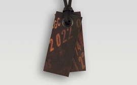 Necklace – Trainspotting, Brown